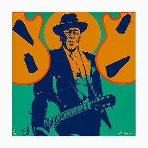 My Generation - John Lee Hooker Screenprint by Ivan Messac