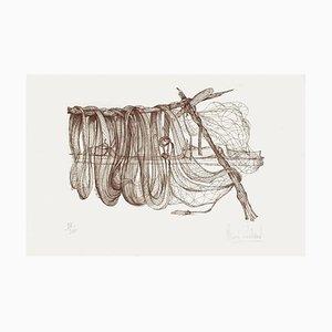 Trocknende Netze von Claude Piechaud