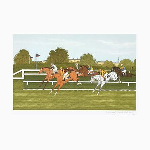Of Horses and Men, Auteuil by Vincent Haddelsey