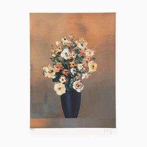 Bouquet Au Vase Noir von Franz Schlitz