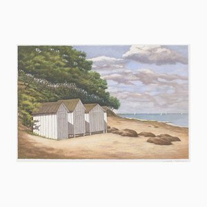 Beach Noirmoutier by Nicole Clement