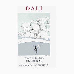 Poster Expo 74, Teatro Museo Figueras Inauguracion 10 par Salvador Dali