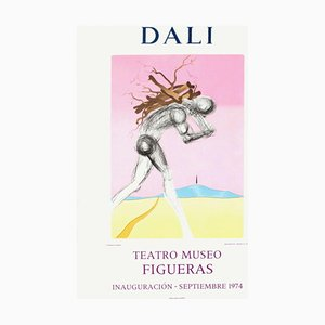Poster Expo 74, Teatro Museo Figueras Inauguracion 9 par Salvador Dali