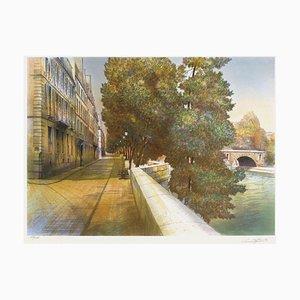 Paris, Quai De Bethune by Rolf Rafflewski