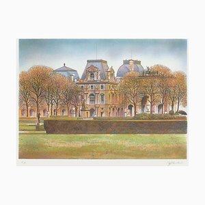 Paris, The Louvre by Rolf Rafflewski