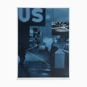 Bicentenaire Kit - USA 76 - 12 Screenprint by Jacques Monory