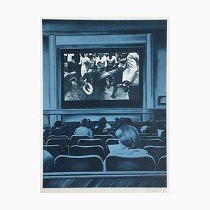 Bicentenaire Kit - USA 76 - 05 Screenprint by Jacques Monory