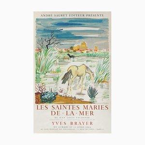 Affiche Expo 64 - Les Saintes Maries de La Mer par Yves Brayer