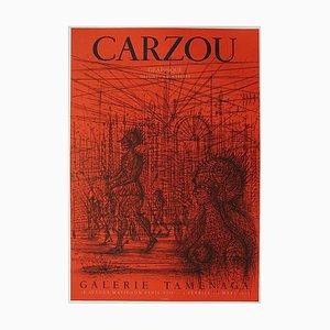 Expo 73 - Galerie Taménaga Plakat von Jean Carzou
