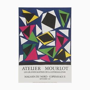 Affiche Expo 84, L'atelier Mourlot par Henri Matisse