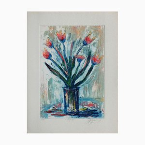 Flowers, Red Tulip de Jean, Marie Guiny