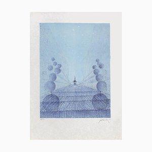 Chrysalide Bleue by Cesare Peverelli