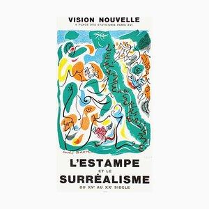 Affiche Expo 75, Vision Nouvelle par André Masson