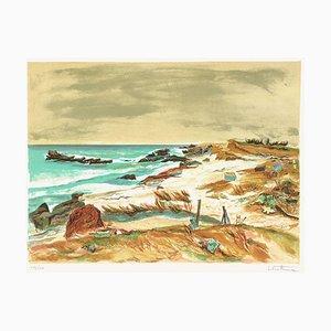 Seaside, Near Concarneau by Louis Vuillermoz
