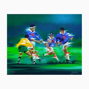 Rugby by Victor Spahn