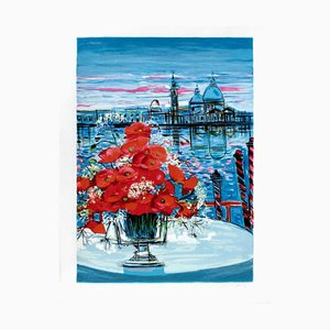 Poppies In Venice by Michel,Henry