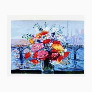 Bouquet Pont Des Arts by Michel-henry