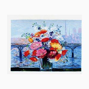 Bouquet Pont Des Arts par Michel-henry