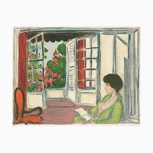 Mujer en un interior de André Cottavoz