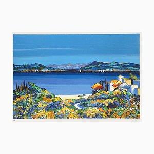 Landscape of Greece by Kerfily