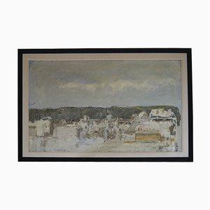 Osvaldo Piraccini, óleo sobre lienzo