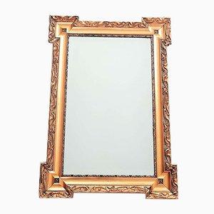 Antique French Napoleon Wall Golden Mirror, 1860