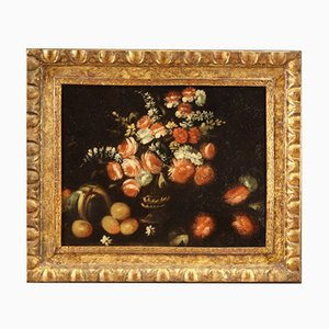 Antique Still Life Painting, 18th-Century