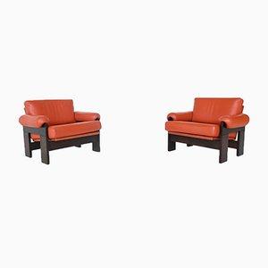 Niederländische SZ74 Sessel von Martin Visser für 't Spectrum, 1969, 2er Set