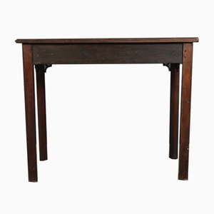Tavolino Chippendale in mogano