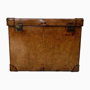 Baúl de viaje de cuero de Mappin & Webb