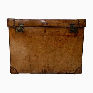 Commissioned Leather Travel Trunk from Mappin & Webb