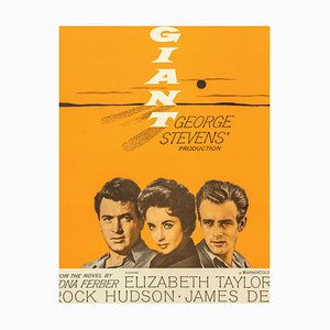 Vintage Film Poster for Giant
