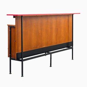 Mueble bar vintage, años 60. Juego de 2