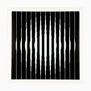 Victor Vasarely, Bora D, 1968, siebgedruckt