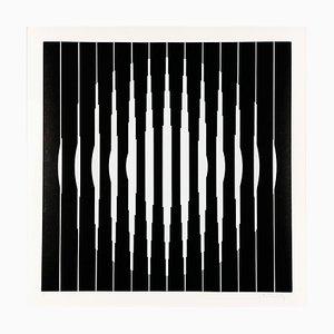 Victor Vasarely, Bora D, 1968, Silkscreen Print