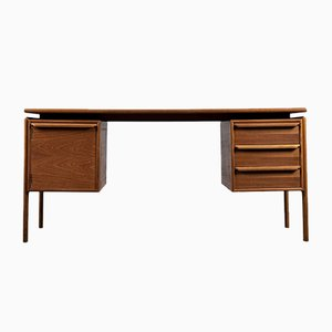 Dänischer Teak Schreibtisch von GM Møbler, 1960er