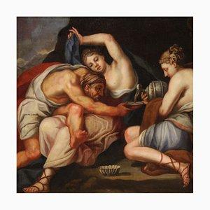 Lot und seine Töchter, Antike Malerei, 17. Jahrhundert