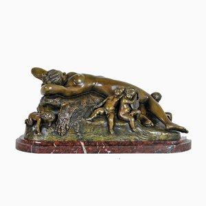 Dolce Farniente Bronze, 19. Jh. Von Pradier