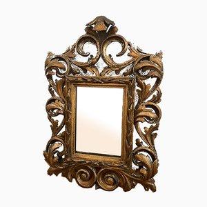 Small 19th Century Florentine Mirror