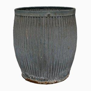 Vasca vintage galvanizzata