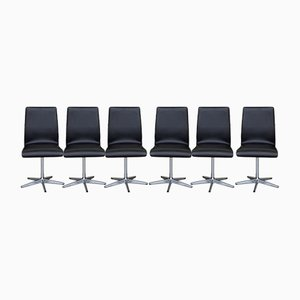 Swivel Chairs from Archie Shine, Set of 6