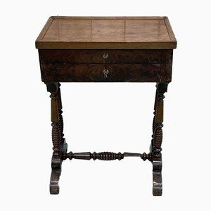 19th Century Louis Philippe Mahogany Worker Cabinet