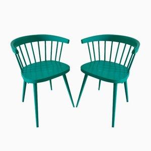 Vintage Armlehnstühle, 1950er, 2er Set