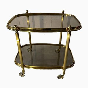 20th Century Caster Brass Trolley by Maison Baguès