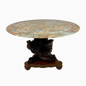 Centre Table with Onyx Top, Early 1900s