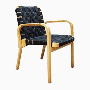 Model 45 Dining Chairs by Alvar Aalto for Artek,1980s, Set of 4