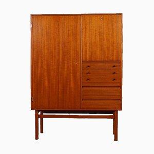 Mueble bar escandinavo de teca, años 60