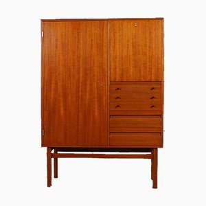 Scandinavian Teak Bar Cabinet, 1960s
