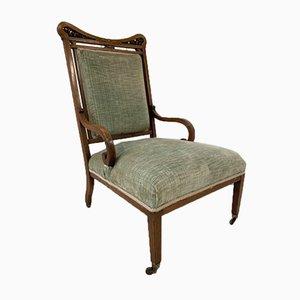 Edwardian Rosewood Nursing Chair