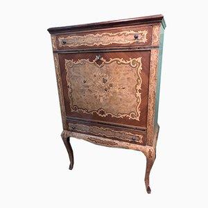 Mueble bar estilo escarabajo, década de 1900